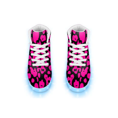 Kat Slater Leopard LED Hightops