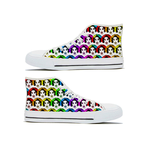 La Voix X Binge Rainbow Pride High Tops
