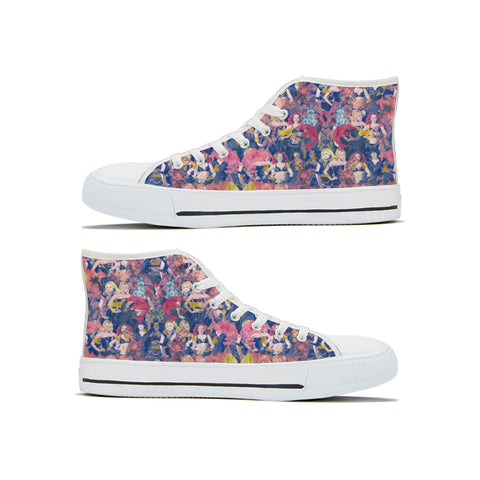 Floral Spice Hightops