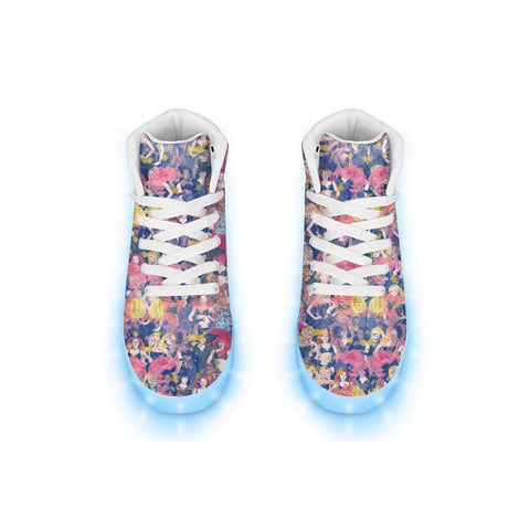 Floral Spice LED Hightops