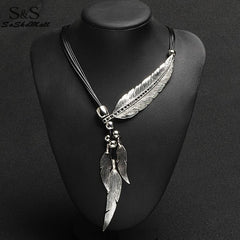 Feather Necklace - Free Shipping!