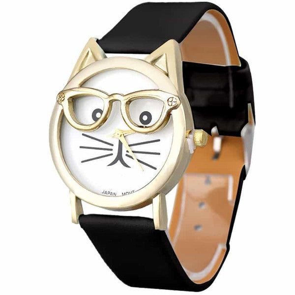 Cattitude Cat-lovers Watch