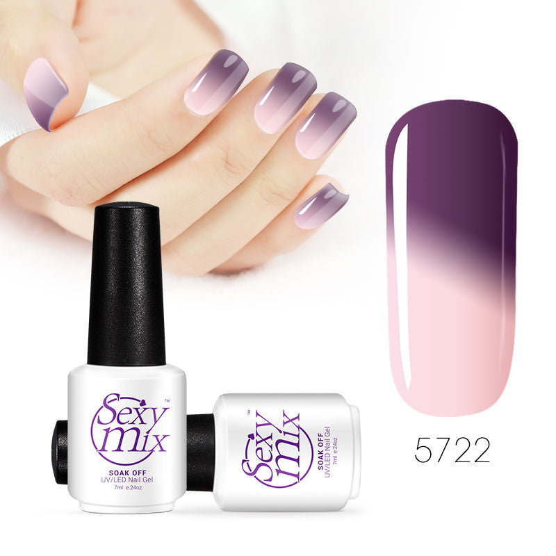 Color changing nail polish - Now you see it
