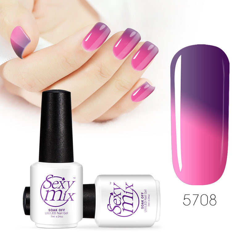 Color changing nail polish - Mood Swings