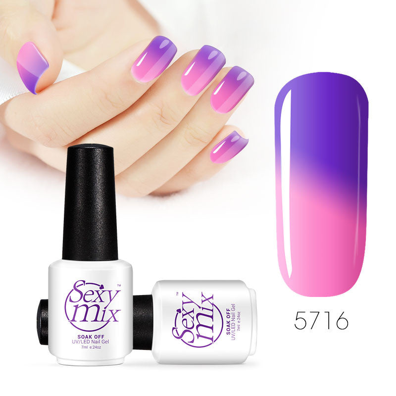 Color changing nail polish - Senior Prom