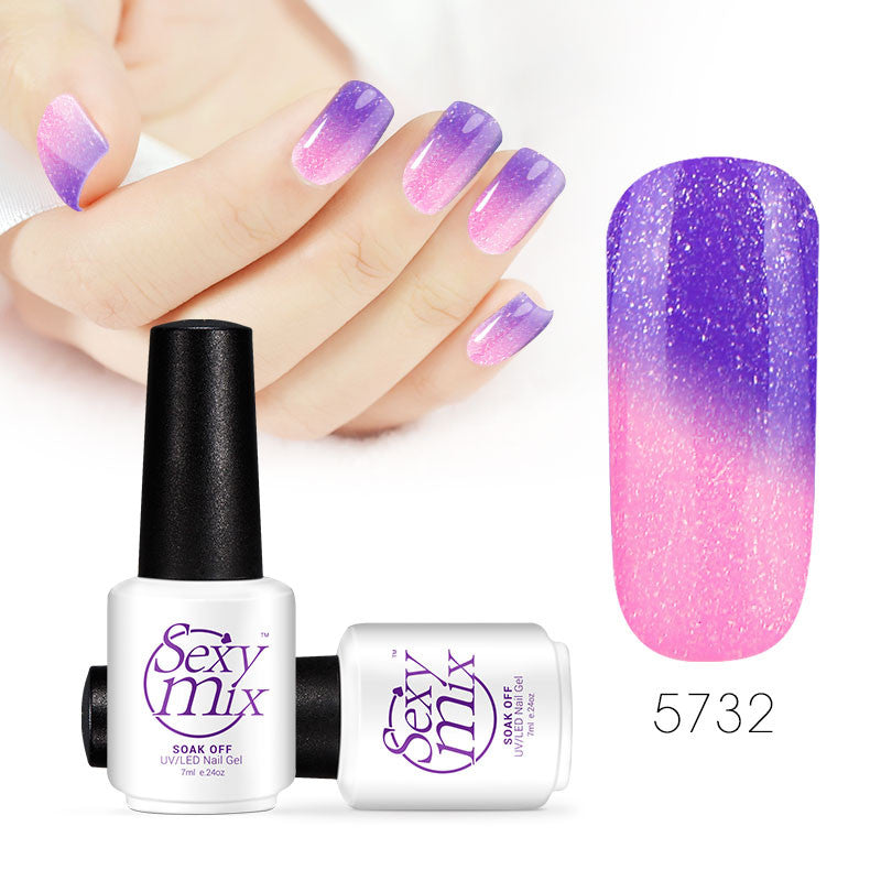 Color changing nail polish - Foxy