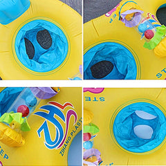 Mother and Child Double Swimming Rings ( Labor Day Clearance Sale! )