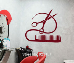 Hair Salon Wall Decal