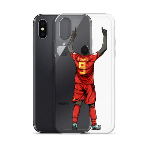 Lukaku Belgium iPhone Case