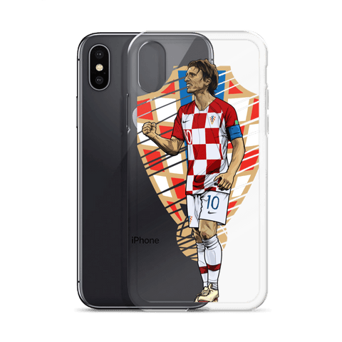 Modric #10 CRO Phone Case