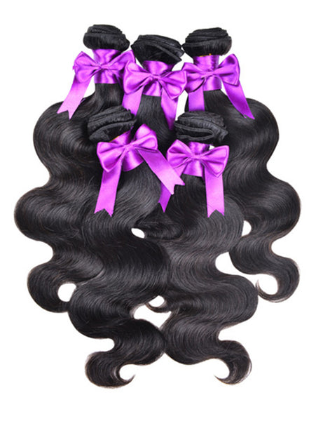Virgin Brazilian Hair Body Wave - Human Hair Weaves Weft 100g Bundle