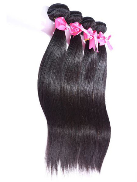 Virgin Malaysian Hair Straight  - Human Hair Weaves Weft 100g Bundle