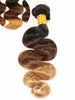 Virgin Brazilian Hair Extensions Ombre 1B/4/27 - Human Hair Weaves 100g Bundle
