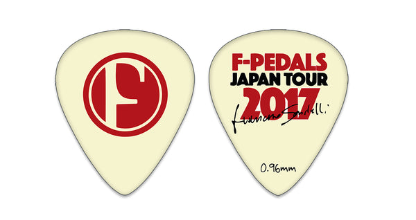Pick Limited Edition F-Pedals Japan Tour 2017