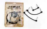 "F-Cables Pre Assembled Pack of 4 - 6"" cables - F-Pedals,F-Cables - Mini Effect Pedals,"
