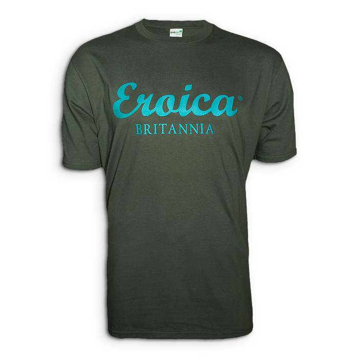 Eroica Britannia T-shirt, British Racing Green