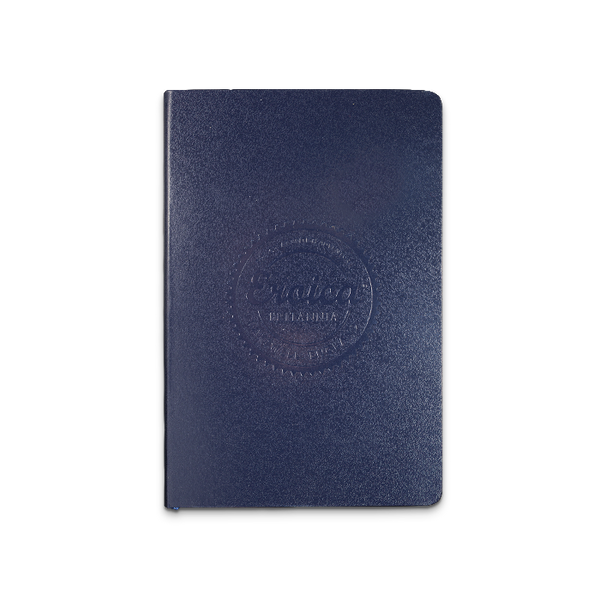 Eroica Britannia Notebook, navy, debossed