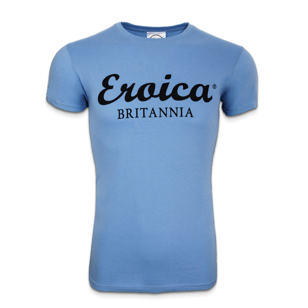 EB LADIES T-SHIRT LIGHT BLUE