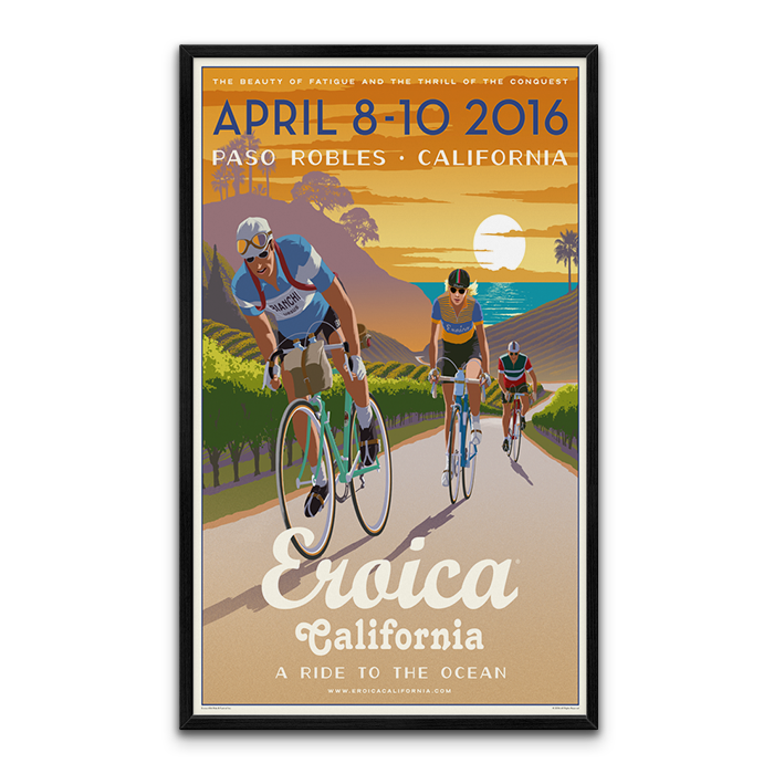 Large Framed CALIFORNIA 2016