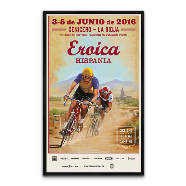 Large Framed HISPANIA 2016