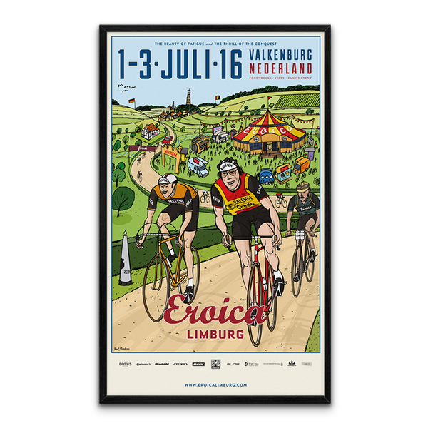 Large  Framed LINBURG Poster  2016