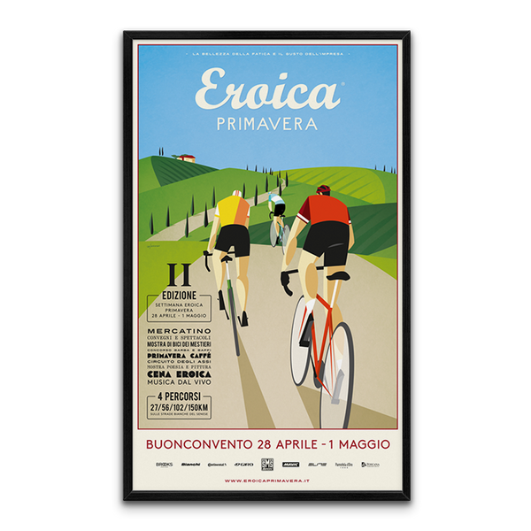 Eroica italy  PRIMAVERA Large Rolled poster