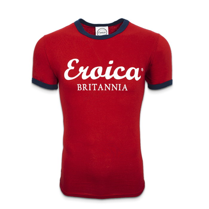 EB MEN T-SHIRT RED/NAVY