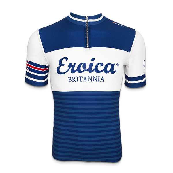 Two Tone Blue SportWool Jersey