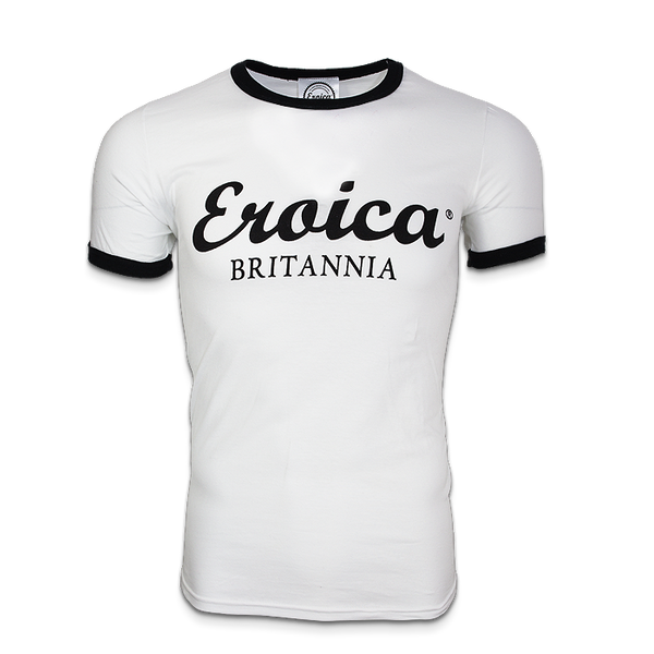 EB MEN T-SHIRT BLACK/WHITE