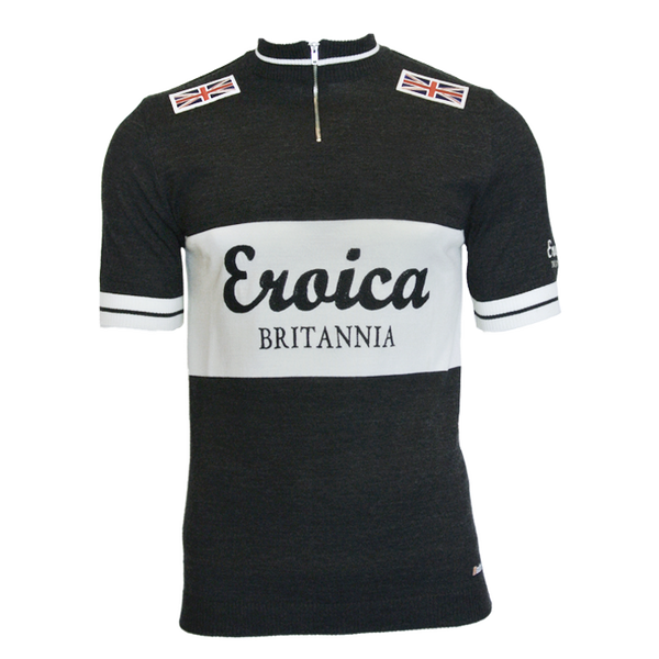 Dark Grey Wool Jersey