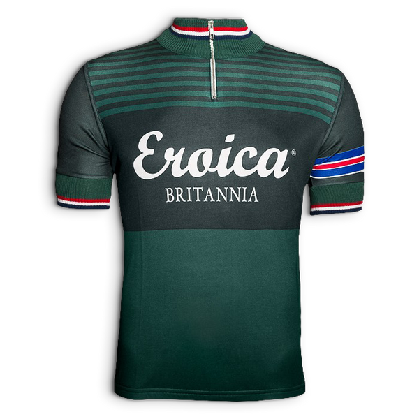 Two Tone Green Sportwool Jersey