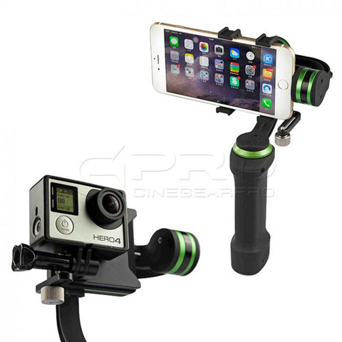 LanParte HHG-01 3 Axis Handheld Gimbal for iPhone6+ GoPro4 (Ex-demo)