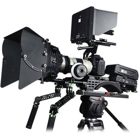 Lanparte PK-02B Ultimate HDSLR Follow Focus Shoulder Support Rig System