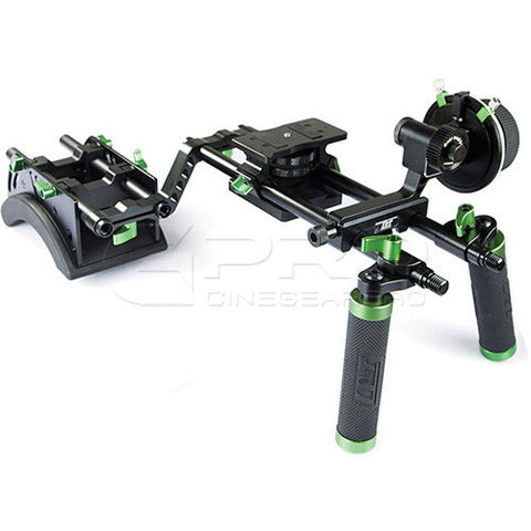 LanParte DHR-01 Double Handle DSLR Camera Rig Kit