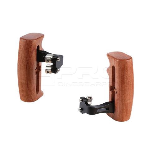 CGPro Versatile Wooden Handgrip With Invertible & Adjustable 1/4