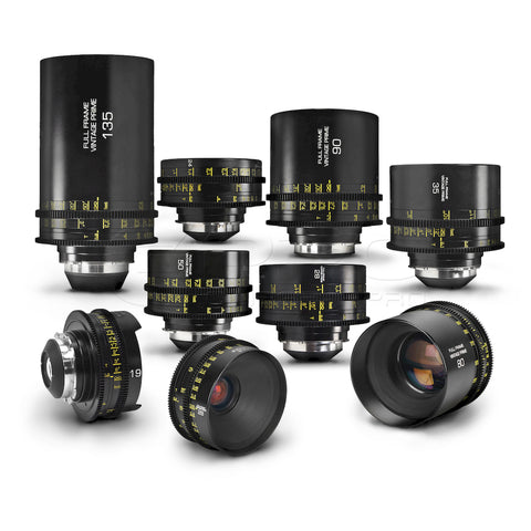 G.L OPTICS Leica R Super Speed/Standard Speed PL Mount Prime Lens Set (New Version)
