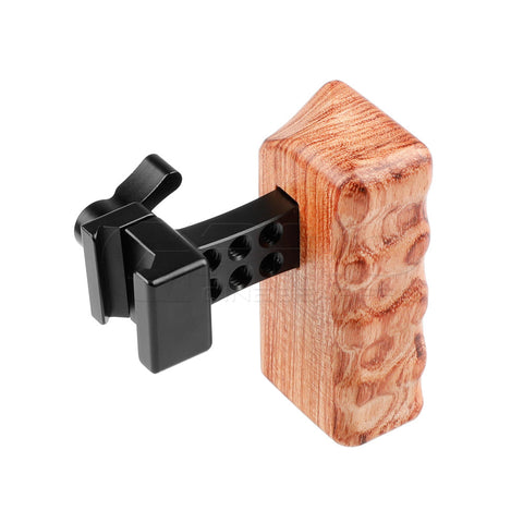 CGPro Mini Wooden Handle Grip with NATO Clamp