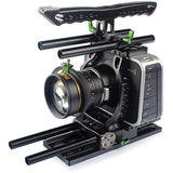 LanParte BMCC-01 Blackmagic Cinema Camera Cage Kit Camera Cages - CINEGEARPRO