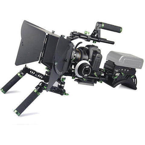 LANPARTE PK-01-C PRO DSLR CAMERA RIG , V1 WITHOUT MONITOR AND BATTERY