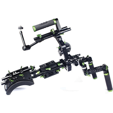 LANPARTE SCR-01 SHOULDER-MOUNT COMBO RIG KIT WITH ABS PROTECTION CASE