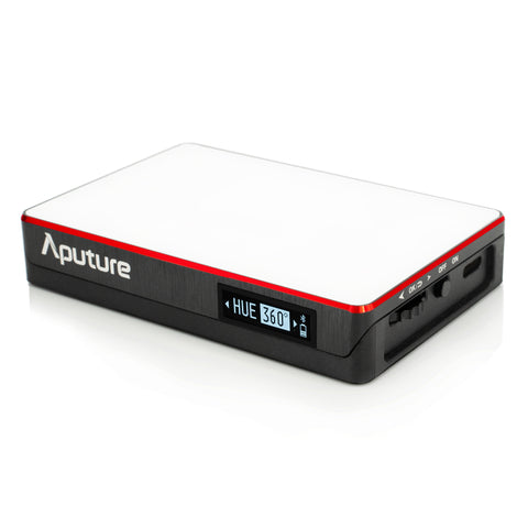 Aputure MC RGBWW LED Video Light HSI Colour Control CCT 3200K-6500K