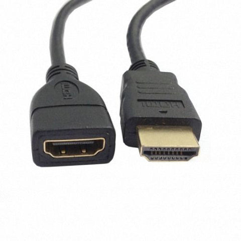 CGPro AM-AF-50 HDMI Type A male to HDMI Type A Female extension cable 50cm with Gold Connector