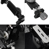 Vlogger Universal Adapter For Mobile phone and SSD With Built-in Cold Shoe Mount And 1/4 threaded holes Clamp - CINEGEARPRO