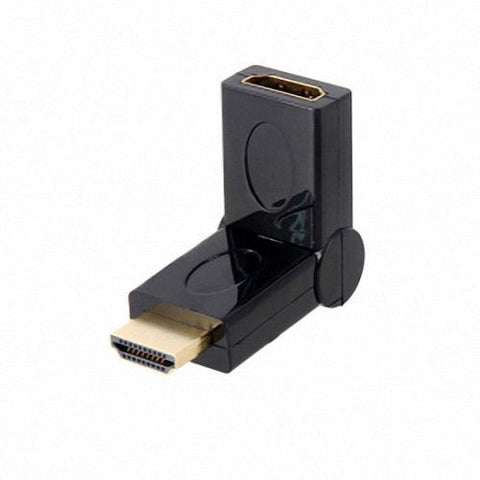 CGPro AM-AF-180 HDMI Type A male to Female 180 degree rotating adapter converter 1.4