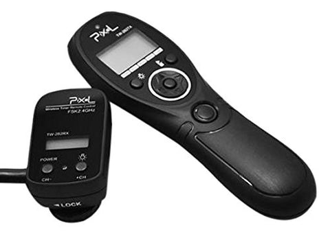 Pixel TW-282/N3 Wireless Timer Remote Control for Canon