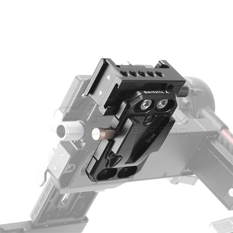 TiLTA Mini V-Lock Plate QR Clamp Kit For DJI RS2