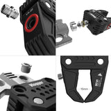 Vlogger Multi-Functional Crab-Shaped Clamp With Built-in 1/4 and 3/8 threaded holes Clamp - CINEGEARPRO
