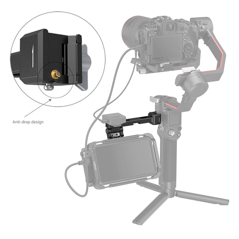 SmallRig 3026 Monitor Mount with NATO Clamp for DJI RS 2/RSC 2