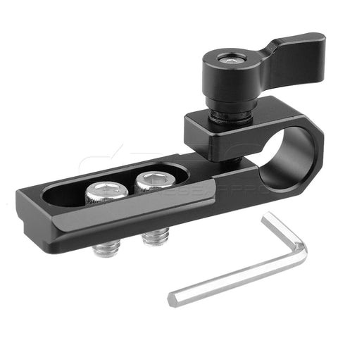 CGPro Single 15mm Rod Clamp with NATO Rail
