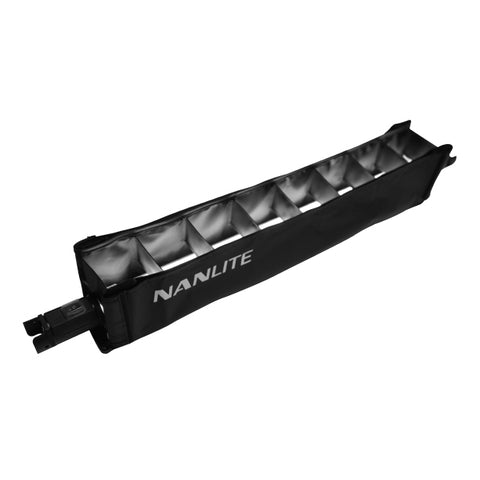 NanLite BD-PT15C+EC Barndoor with eggcrate for PavoTube 15C